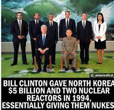 North Korean Memes - viral image wrongly blames bill clinton for giving north korea the