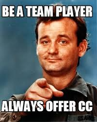 Team Meme - meme maker be a team player always offer cc