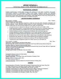 correction officer resume perfect correctional parole cover letter