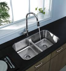 Dual Faucet Sink 15 Functional Double Basin Kitchen Sink Home Design Lover