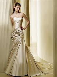 gold wedding dresses splendid and glamorous in gold wedding dresses dressity
