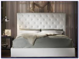 Leather Headboard King White Leather Tufted Headboard King Headboard Home Decorating