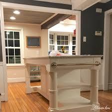 kitchen island remodel kitchen renovation progress a new kitchen island lehman