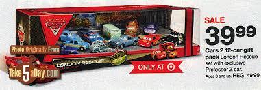 target online black friday sale 2012 mattel disney pixar cars 2 diecast target london rescue 12 pack
