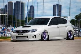 lowered subaru impreza wagon subaru brad sillars photography