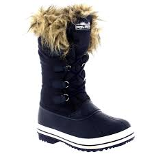 sorel womens boots size 12 womens warm fur trim duck outdoor winter