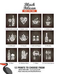 12 set kitchen collections decor kitchen poster 12 by blackpelican