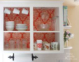 Kitchen Cabinets Open Shelving Kitchen Instant Makeover On A Dime Paint Cabinets White Open