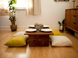 Dining Table In Living Room Delightful Japanese Style Low Dining Table Ideas Awesome Japanese