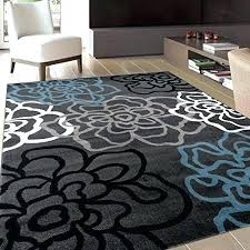 blue area rugs outdoor rug 8 x 10 walmart for living room