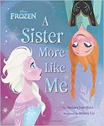 frozen sister disney book group barbara jean