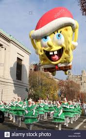 90th annual macy s thanksgiving day parade featuring spongebob