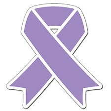 lavender ribbon cancer awareness supplies party supplies lavender ribbon