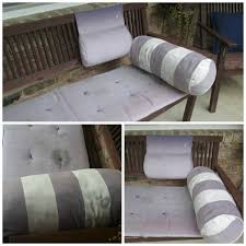 Diy Patio Cushions How To Refresh Your Outdoor Cushions With Leftover Paint