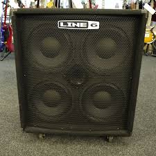 low down sound bass cabinets line 6 lowdown 4x10 bass speaker cab 2nd hand rich tone music