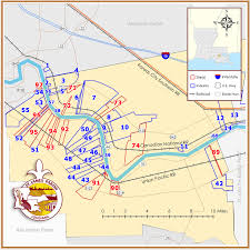 Louisiana Parishes Map by St James Parish Port Of South Louisiana