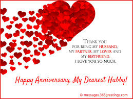 anniversary wishes for husband 365greetings