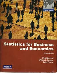 statistics for business and economics global edition paul