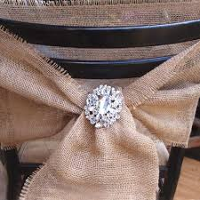burlap chair sashes burlap chair sash 7 inch wide x 3 yards buy now