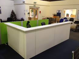 Reception Desk Hire Used Large Reception Desks