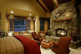 Rustic Master Bedroom Decorating Ideas - 20 heartwarming bedroom ideas with fireplace rilane
