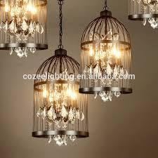 Chandelier Lights Singapore Rh Home Restaurant Decor Rustic Bird Cage Hanging Lighting
