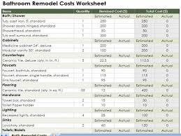 Kitchen Cabinet Cost Estimator Bathroom Remodel Cost Estimator Calculator