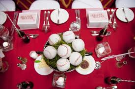 baseball centerpieces baseball centerpieces baseball wedding ideas popsugar