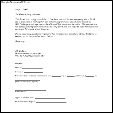 proof of employment letter 15 best sample u0026 templates to choose