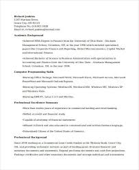 Business Banker Resume Basic Banking Resumes 38 Free Word Pdf Documents Download