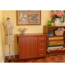 Best Sewing Table by Norma Jean Cherry Sewing Cabinet Joann