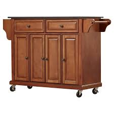 a kitchen island darby home co pottstown kitchen island with granite top reviews