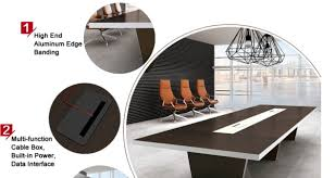Boardroom Meeting Table Thickness Modern Design Boardroom Meeting Table Luxury Conference