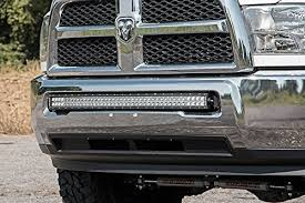 curved led light bar rough country 70569 40 inch single or dual row curved led light