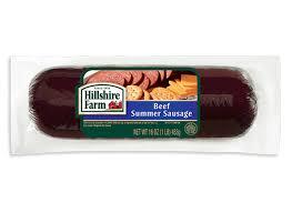 hillshire farm summer sausage beef summer sausage hillshire farm brand