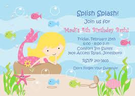 mermaid invitation template themesflip
