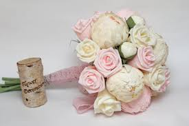 paper flower bouquet wedding bouquet paper flower bouquet bridesmaids bouquets