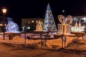 Commercial Christmas Decorations Ontario Canada by Leblanc Illuminations Canada