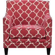 picket house furniture udh708100ca deena red patterned fabric
