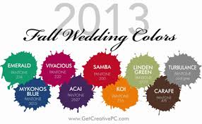fall colors for weddings get creative fall wedding trends get creative creative
