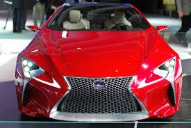 lexus lf lc hybrid concept coupe detroit 2012 lexus lf lc concept