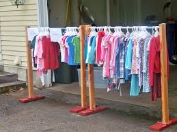 Decorative Clothes Rack Australia by Another Hangout Clothes Rack Used At A Garage Sale In The