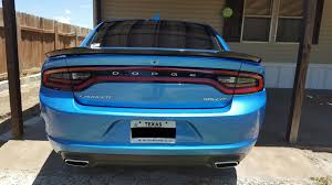 chrysler 300 hellcat swap switched the spoiler on my rallye to the hellcat spoiler charger