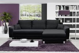 canape d angle noir photos canapé d angle gris et noir