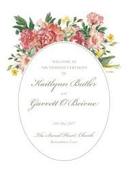 wedding ceremony program covers printable ceremony covers wedding stationery from appleberry press