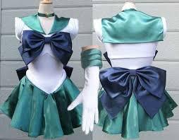 Sailor Moon Halloween Costume Moon Michelle Dress Sailor Neptune Cosplay Costume Halloween