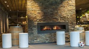 electric fireplace contemporary closed hearth built in
