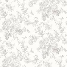 annie gray floral wallpaper traditional wallpaper by