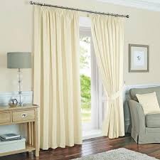 Curtain Pole Dunelm Toledo Cream Thermal Curtain Collection Dunelm