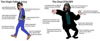 Stalker Meme - s t a l k e r chad meme stalker